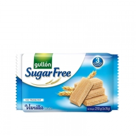 Napolitanke sa vanilom bez šećera 210g - photo ambalaze