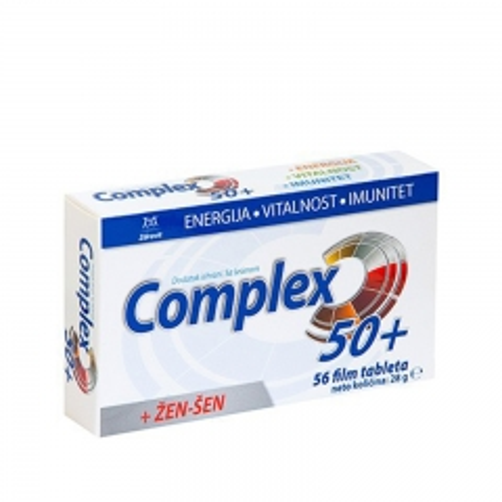 Zdrovit Complex 50+ 56 tableta - photo ambalaze