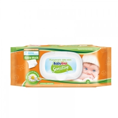 Sensitive Wipes - photo ambalaze