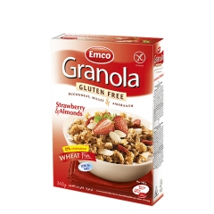 Granola jagoda 340g - photo ambalaze