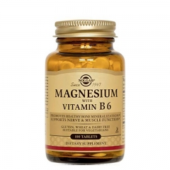 Magnezijum sa vitaminom B6 100 tableta - photo ambalaze
