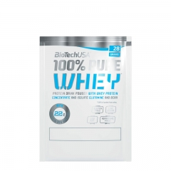 100% Pure Whey protein 28g - photo ambalaze