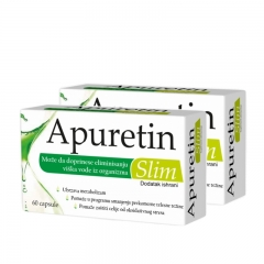 Apuretin Slim 2-pack 2x60 kapsula - photo ambalaze