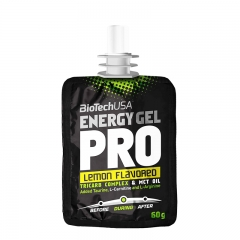 Energy Gel Pro limun 60g - photo ambalaze