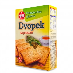 Dvopek od prosa 220g - photo ambalaze