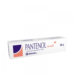 Pantenol Mast 30g - photo ambalaze