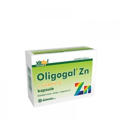 Oligogal Zn + vitamin C 30 kapsula - photo ambalaze