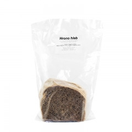 Hrono beskvasni integralni hleb 350g - photo ambalaze