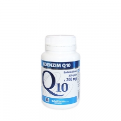 Koenzim Q10 200mg 30 kapsula - photo ambalaze