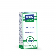 Herbiko sirup beli slez 125ml - photo ambalaze