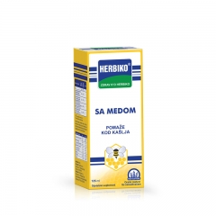 Herbiko sirup sa medom za odrasle 125ml - photo ambalaze