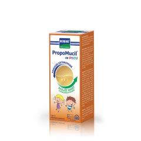 Herbiko Propomucil sirup za decu 120ml - photo ambalaze