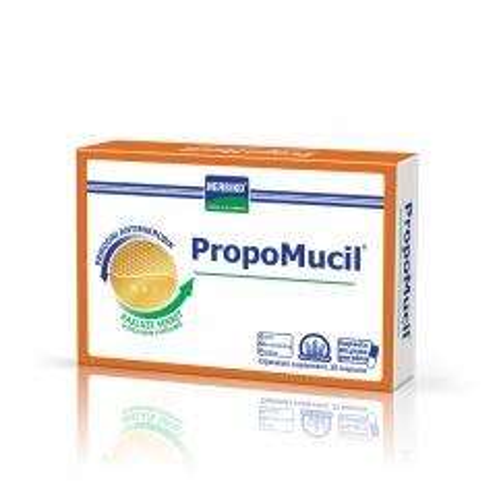 Herbiko Propomucil 20 kapsula - photo ambalaze