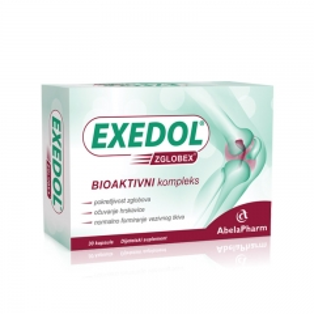 Exedol Zglobex 30 kapsula - photo ambalaze