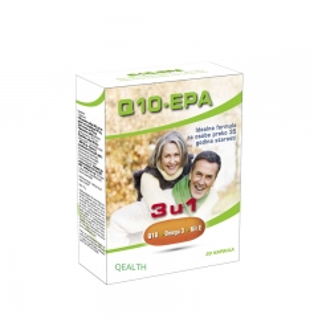 Koenzim Q10 EPA 3u1 30 kapsula - photo ambalaze