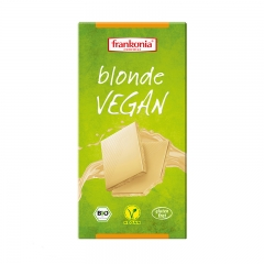Čokolada Vegan bela 100g - photo ambalaze
