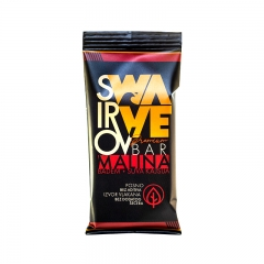 Premium Wawe malina bar 40g - photo ambalaze