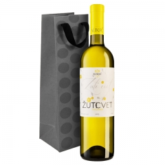 Žuti cvet belo vino 750ml - photo ambalaze