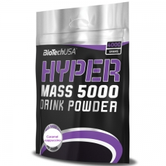Hyper Mass 5000 karamela-kapućino 4000g - photo ambalaze