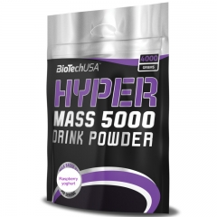 Hyper Mass 5000 malina-jogurt 4000g - photo ambalaze