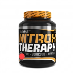 Nitrox Therapy pre-workout formula brusnica 680g - photo ambalaze