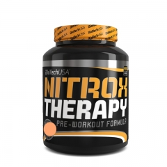 Nitrox Therapy pre-workout formula breskva 680g - photo ambalaze