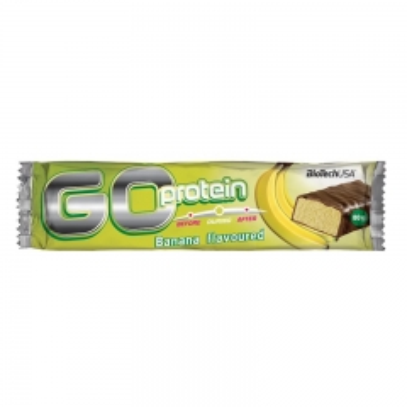 Go protein bar banana 80g - photo ambalaze
