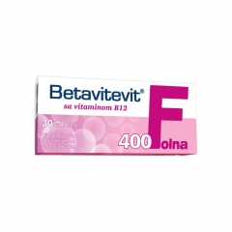 Betavitevit Folna 400 30 tableta - photo ambalaze