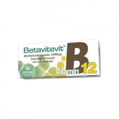 Betavitevit Vitamin B12 30 tableta - photo ambalaze