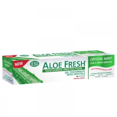 Pasta za zube Aloe Fresh Crystal Mint 100ml - photo ambalaze