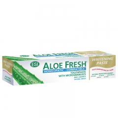Pasta za zube Aloe Fresh Homeopathic Whitening 100ml - photo ambalaze