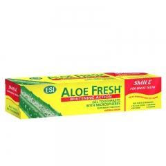 Pasta za zube Aloe Fresh Smile Whitening 100ml - photo ambalaze