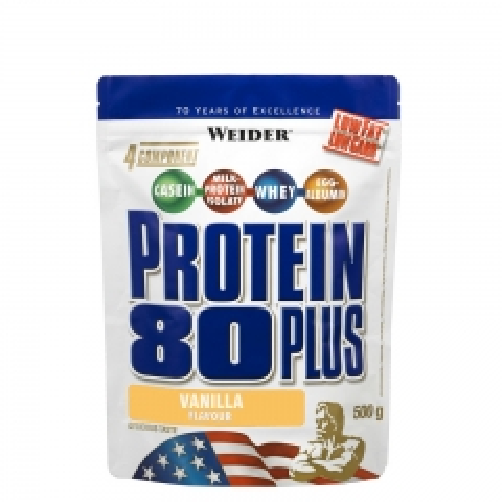 Protein 80 Plus vanila 500g - photo ambalaze