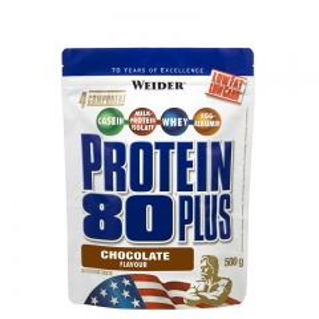 Protein 80 Plus čokolada 500g - photo ambalaze