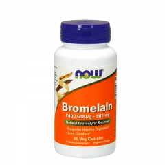 Bromelain 500mg 60 kapsula - photo ambalaze