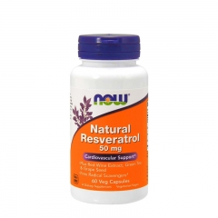 Natural Resveratrol 50mg 60 kapsula - photo ambalaze