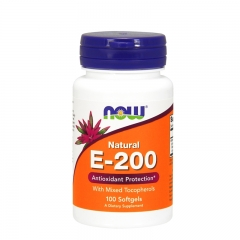 Vitamin E 200IU 100 kapsula - photo ambalaze