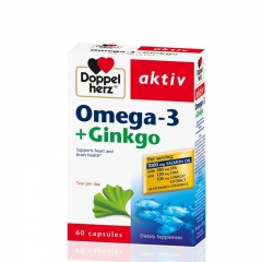 Omega 3 + Ginkgo 60 kapsula - photo ambalaze