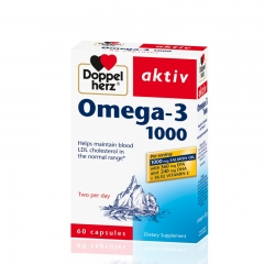 Omega 3 Forte 300mg 60 kapsula - photo ambalaze