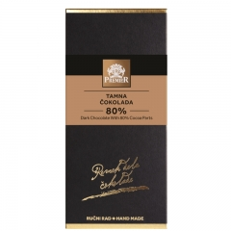 Tamna čokolada 80% - photo ambalaze