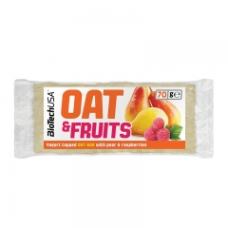 Oat&Fruits kruška i malina 70g - photo ambalaze