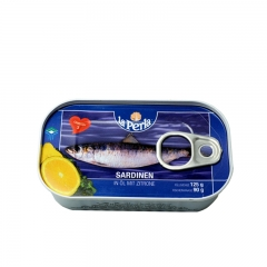 Sardine sa limunom 125g - photo ambalaze