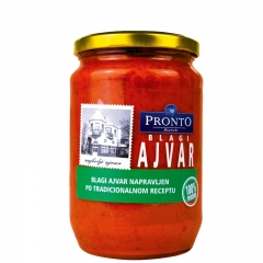 Ajvar blagi 720ml - photo ambalaze