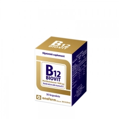 B12 Biovit 30 lingvaleta - photo ambalaze