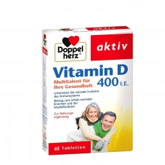 Vitamin D 400IU 45 tableta - photo ambalaze