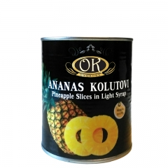 Ananas kolutovi - photo ambalaze