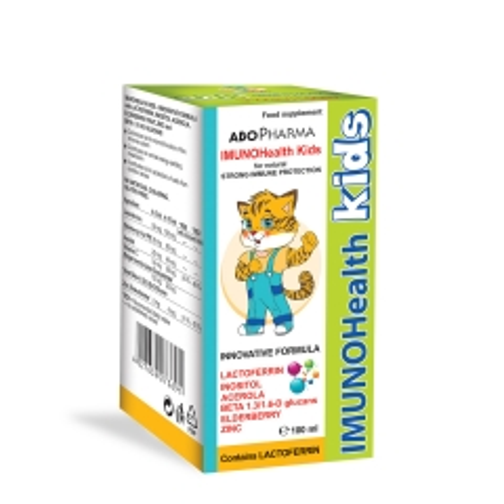 Imunohealth Kids 100ml - photo ambalaze