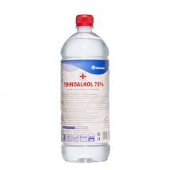 75% Etanol alkohol 1l - photo ambalaze