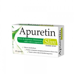 Apuretin Slim 60 kapsula - photo ambalaze