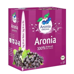 Bio Aronia 5L - photo ambalaze